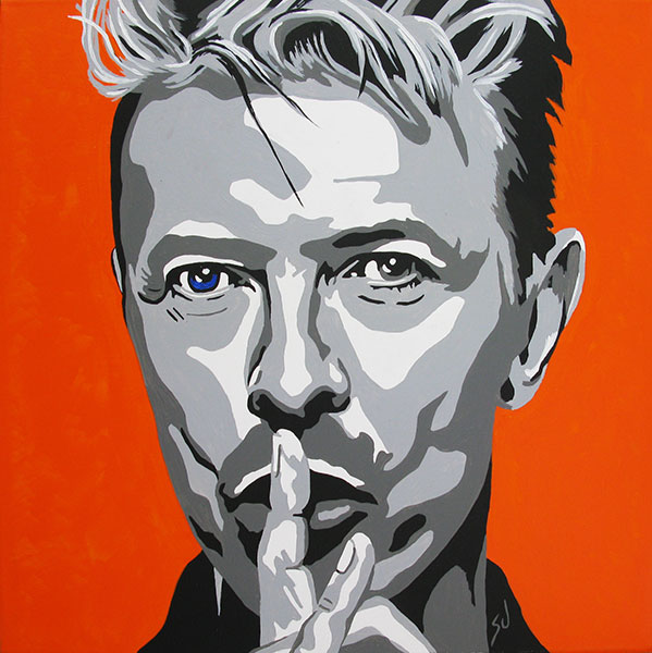 R.I.Paint David Bowie e.a.