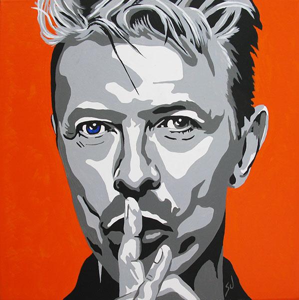 R.I.Paint David Bowie e.a.