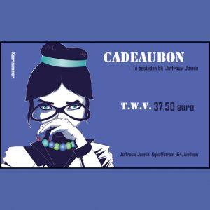 Cadeaubon 37,50 euro